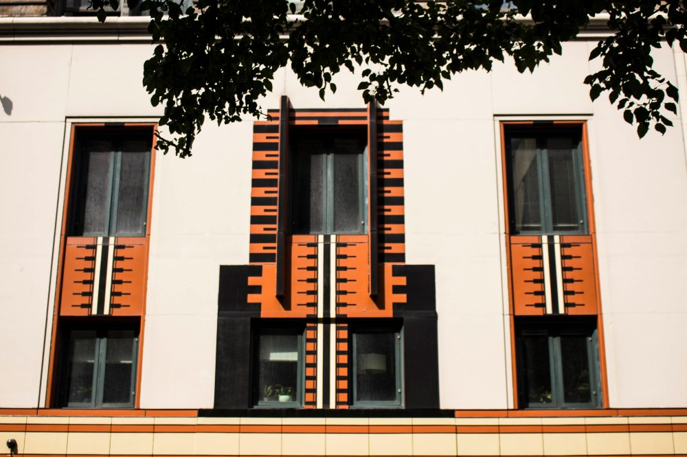 Color Light - Orange Building